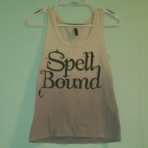 Spellbound cute witchy tank top